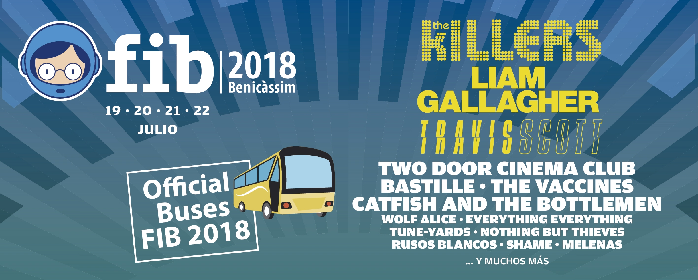 FIB 2018 Official buses